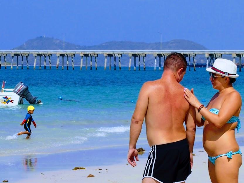 パタヤの思い出画像サタヒップビーチ