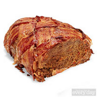 Bacon-Wrapped Turkey Meat Loaf.