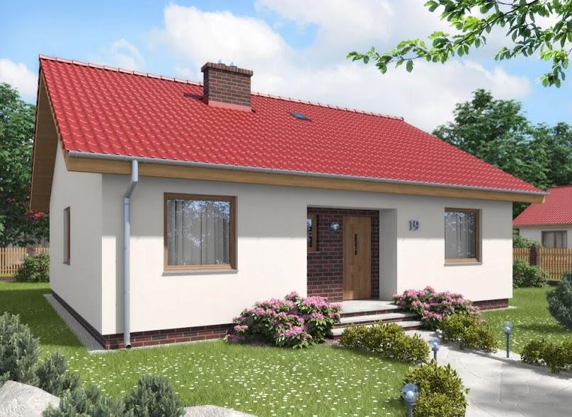 Projekt domu Rumianek Mały