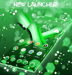 New Launcher - náhled