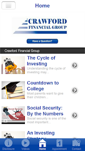 Crawford Financial Group- screenshot thumbnail