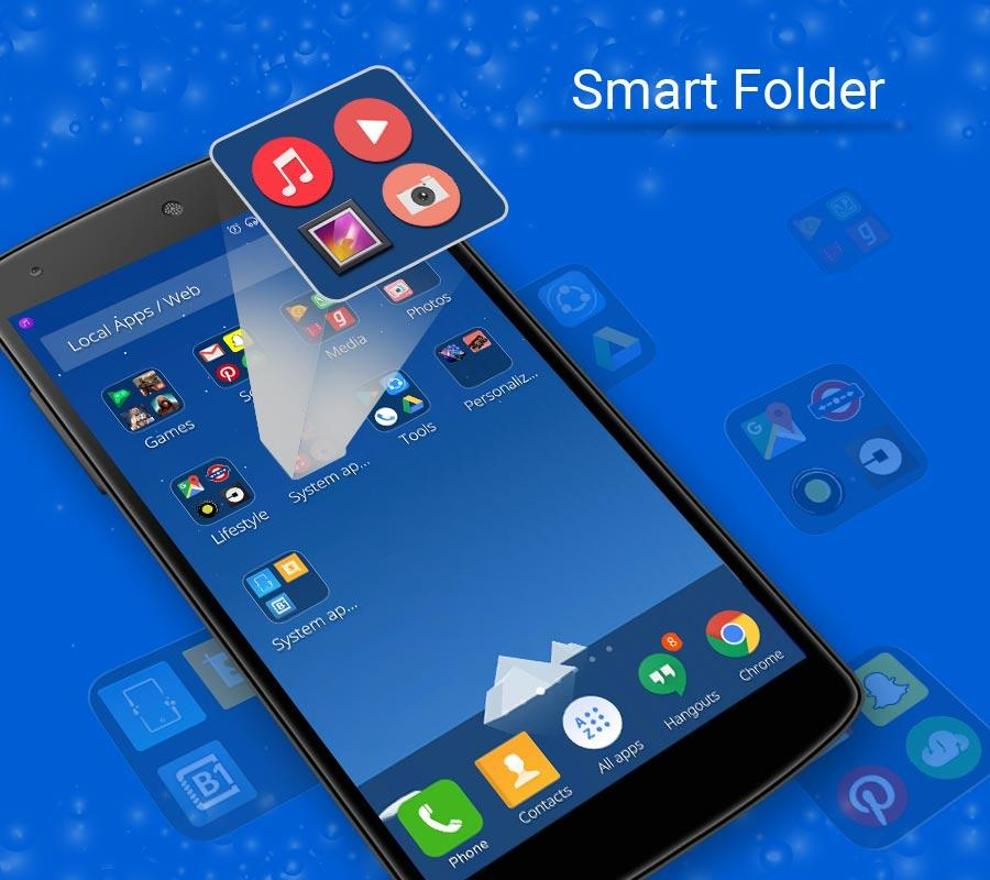 CM Launcher 3D - HD Theme & Live Wallpaper- screenshot