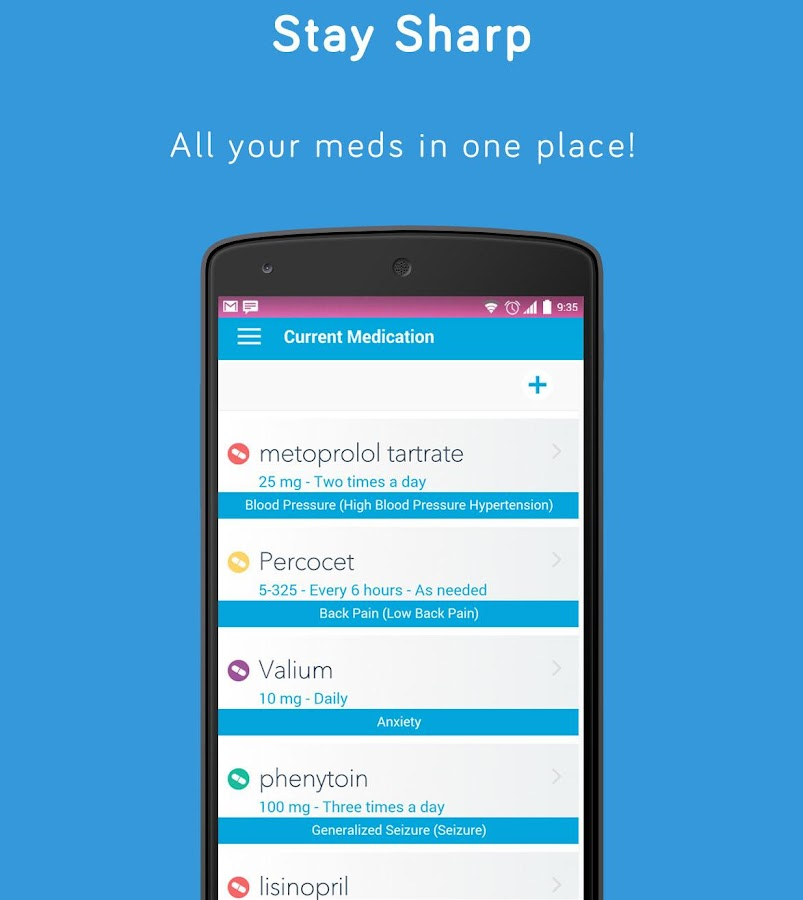 iMEDTracker for Pills & Meds- screenshot