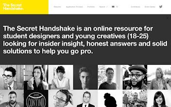 Photo: Site of the Day 21 July 2013 http://www.awwwards.com/web-design-awards/the-secret-handshake