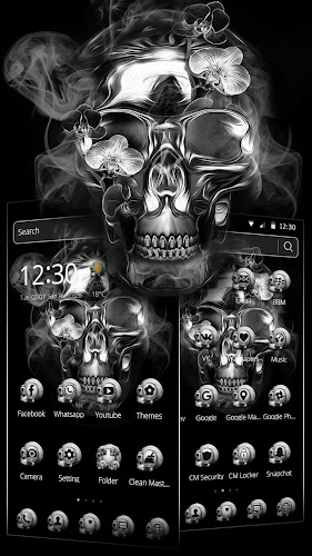 Download Scary Skull Theme Apk Latest Version App By Trusty
