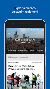 Kurier Lubelski- screenshot thumbnail