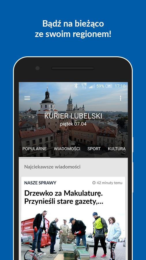 Kurier Lubelski- screenshot