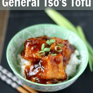 General Tso's Tofu.