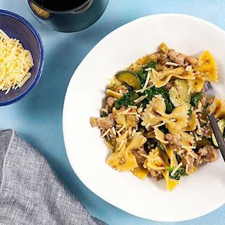 Sausage and Eggplant One Pot Pasta Recipe