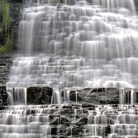 HDR Albion Falls by Brad Chapman - Landscapes Waterscapes ( water, waterfalls, 2013, fall, falls, hamilton, albion falls,  )
