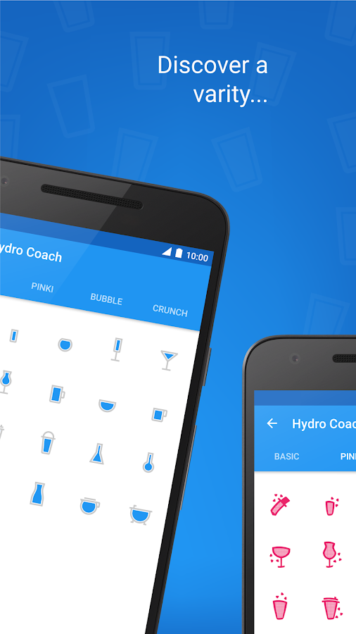 Hydro Coach - drink water- screenshot
