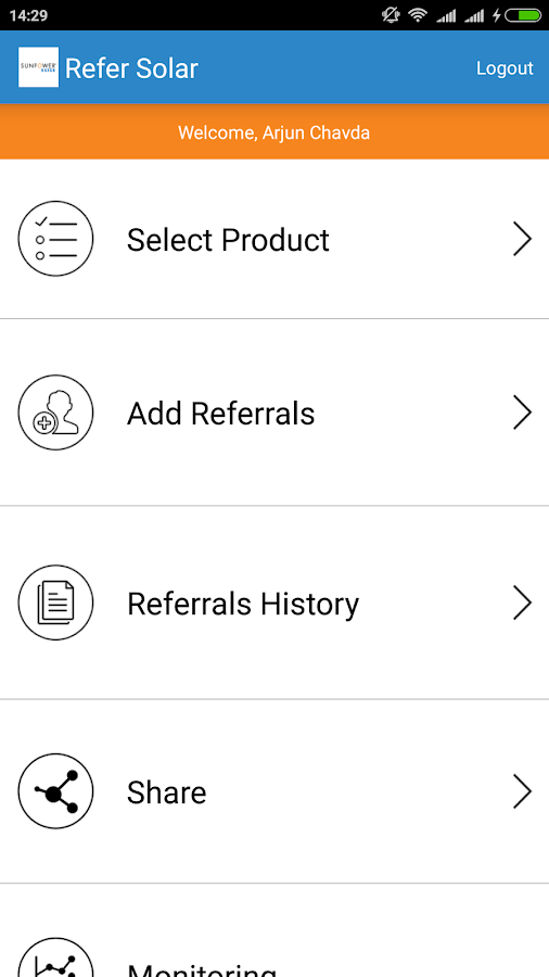 Refer Sunpower- screenshot
