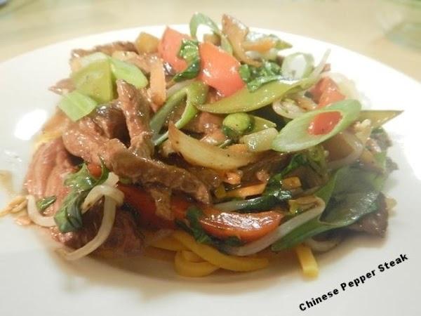 Chinese Pepper Steak Recipe
