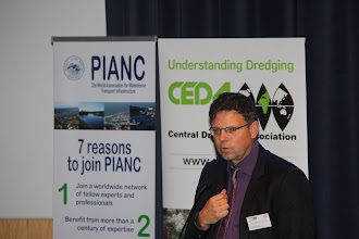 Photo: PIANC Speaker: Harald Koethe, Chair PIANC EnviCom, German Ministry of Transport and Digital Infrastructure