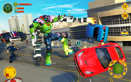 Incredible Monster Robot Hero Crime Shooting Game apkdebit screenshots 6