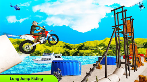 Tricky Bike Stunt Master Crazy Stuntman Bike Rider 1.0 screenshots 2