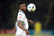 Papy Faty of Wits during the Absa Premiership match between SuperSport United and Bidvest Wits at Lucas Moripe Stadium on April 26, 2016 in Pretoria.