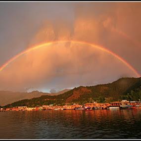 monsoon magic on Dal lake  by Sourav Tripathi - Landscapes Travel
