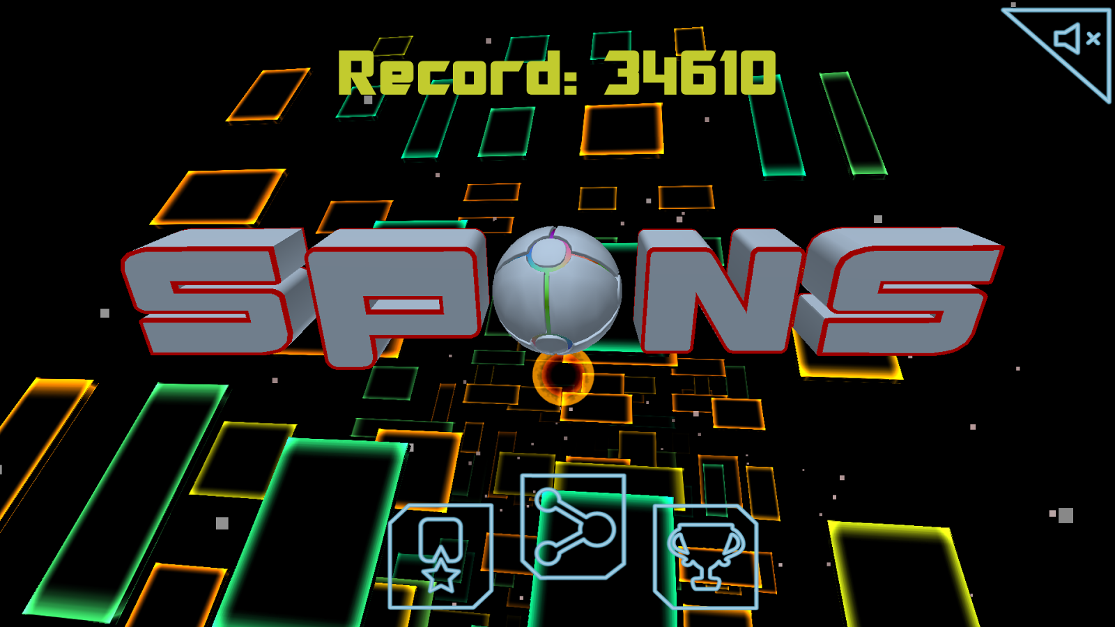 Spons: gravity descent- screenshot
