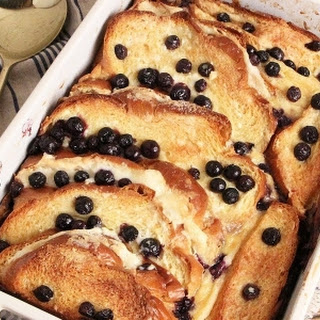 Cheesecake Baked French Toast.