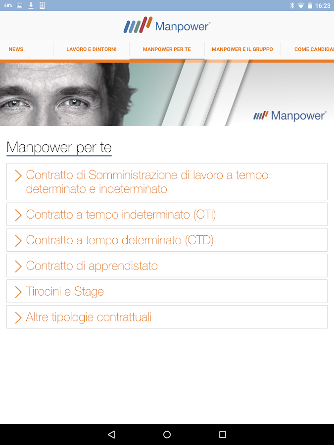 My Job by Manpower Italia- screenshot