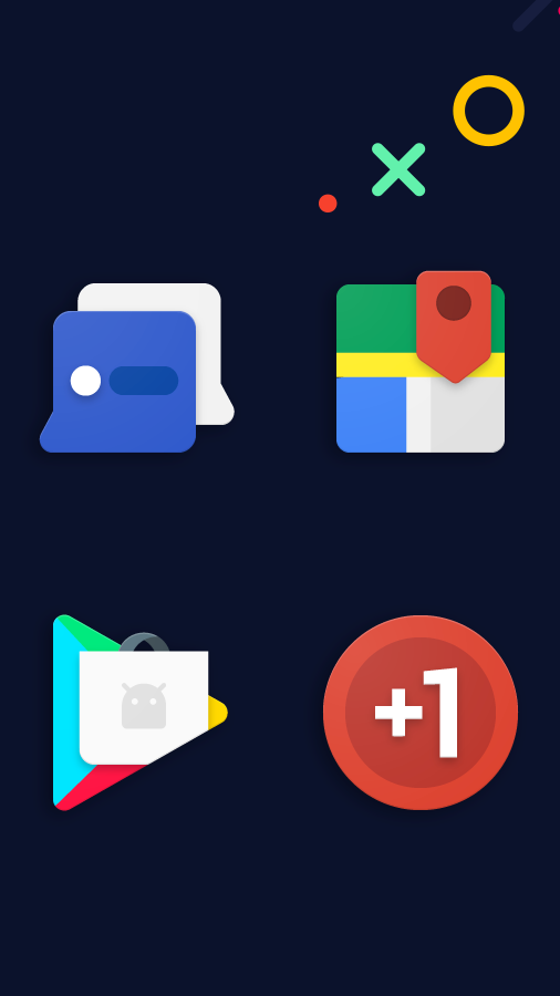 Frozy / Material Design Icon Pack Screenshot 1