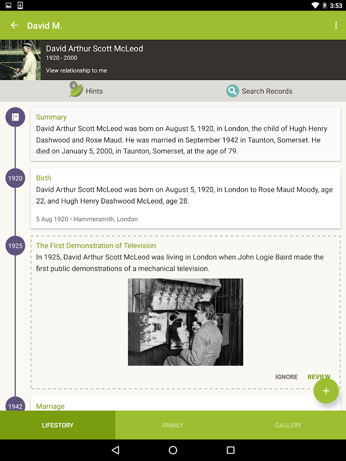 Ancestry- screenshot