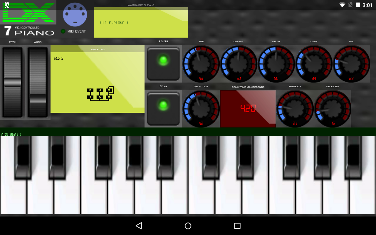 Synth DX7 Piano- screenshot