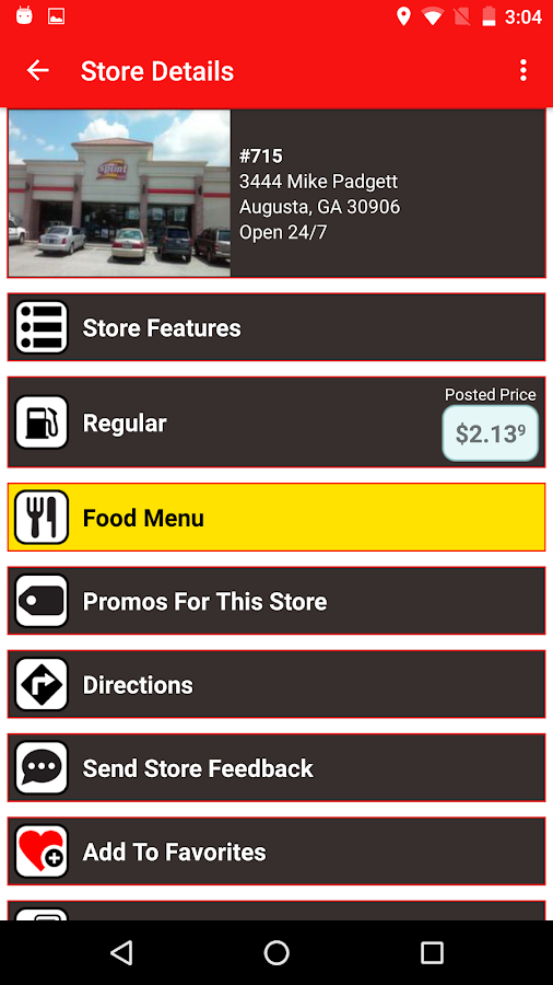 Sprint Foods- screenshot