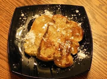 """""""Italian"""" French Toast (oregano free)"""