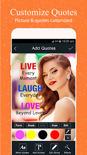 Picture Quotes - Quote Maker- screenshot thumbnail