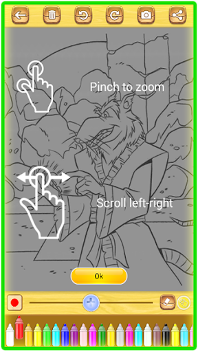 Ninja Hero Turtle Coloring Book apkmind screenshots 7