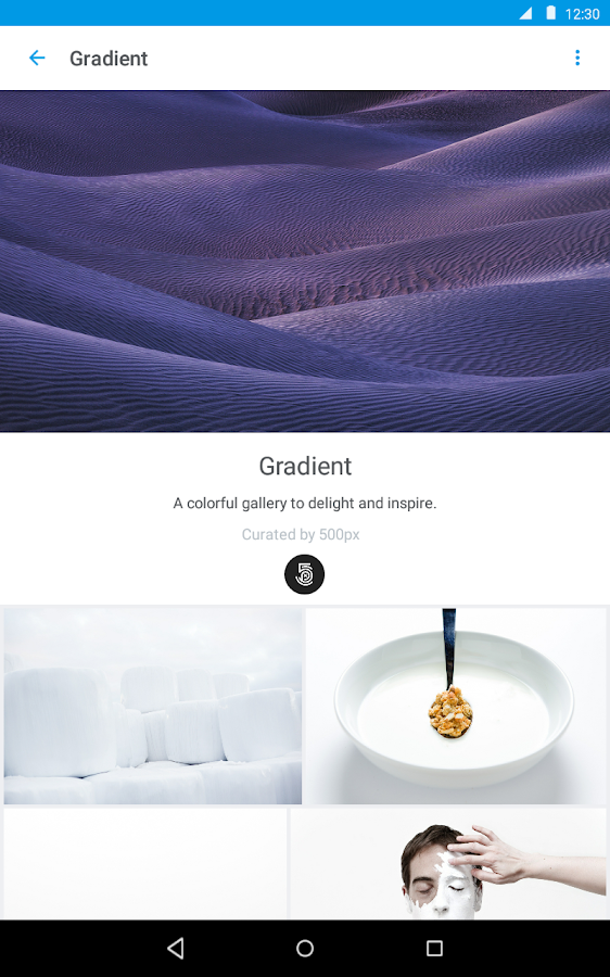 500px – Discover great photos- screenshot
