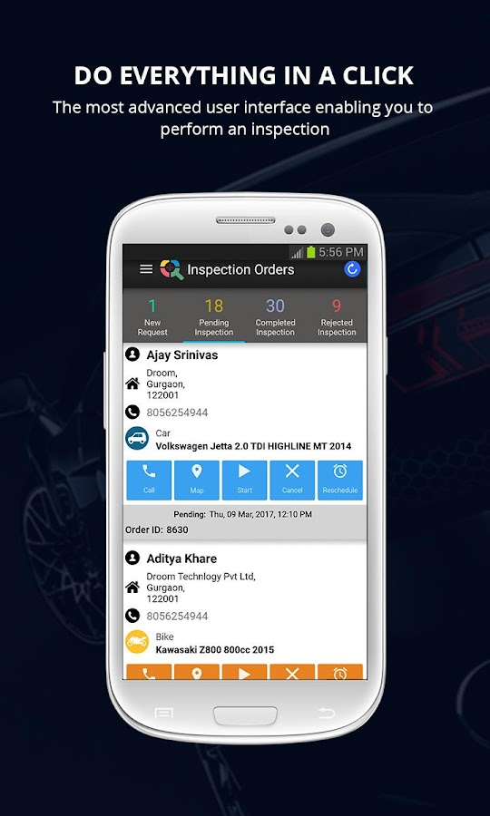 ECO: Doorstep Auto Inspection- screenshot