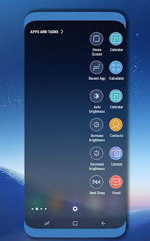 Favorite Apps and Tasks Panel