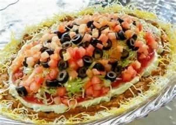 Layered Bean Dip Recipe