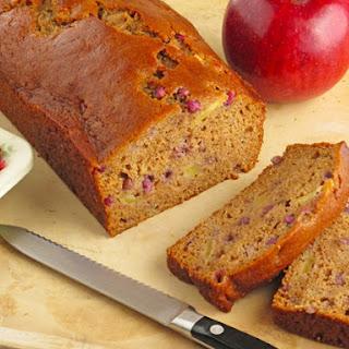 Apple Pomegranate Bread.