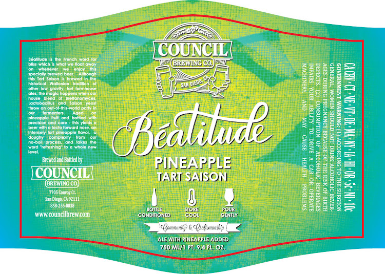 Logo of Council Beautitude Pineapple Tart Saison