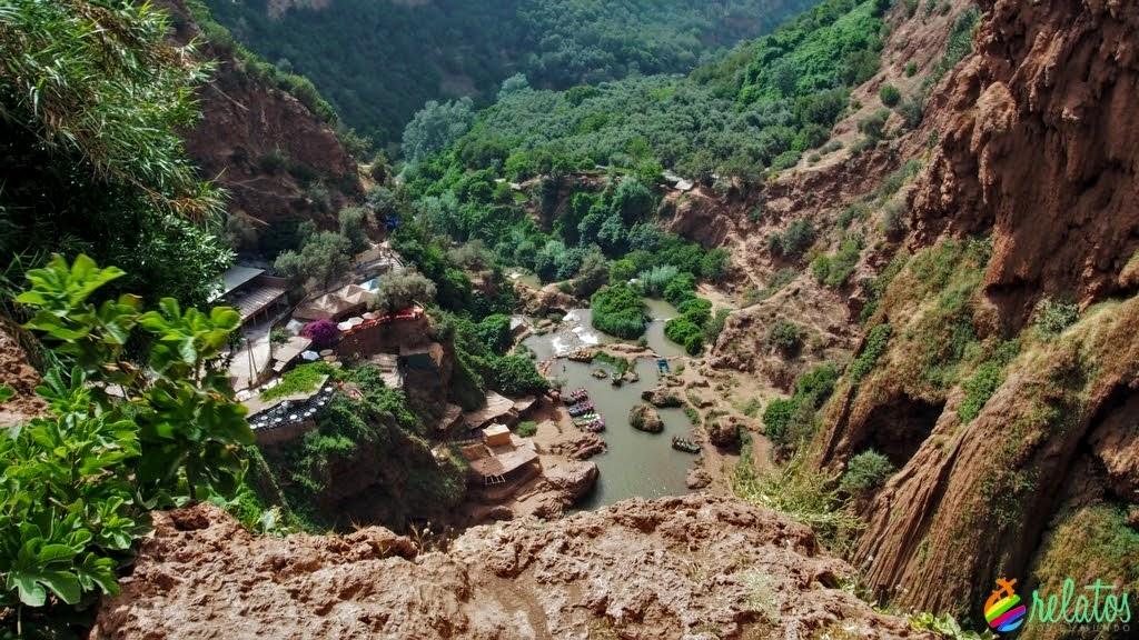 Mirador Cascadas de Ouzoud
