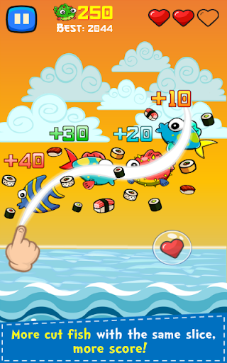 Sushi Ninja 1.23 screenshots 2