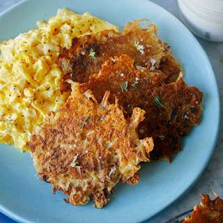Crispy and Cheesy Hash Browns Recipe