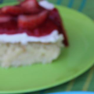 Simple Tres Leche Cake.