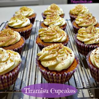 Tiramisu Cupcakes.
