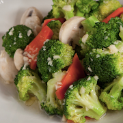 Broccoli Stir-Fried with Minced Garlic