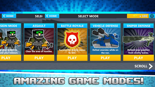 Cube Wars Battle Survival ss2