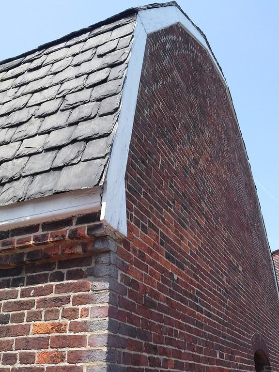 Dach kryty łupkiem