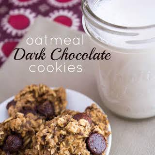 Oatmeal Dark Chocolate Cookies.