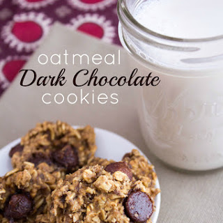 Oatmeal Dark Chocolate Cookies.