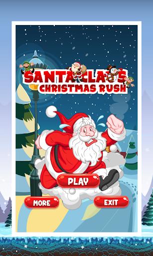 Santa Claus Christmas rush