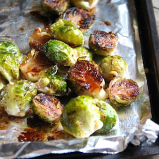 Roasted Brussels Sprouts with Balsamic & Orange.